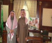 زيارة رئيس مجلس الادارة لسعادة محافظ  السليل