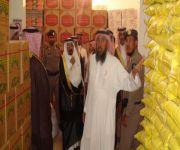 جمعية البر الخيرية بالسليل انتهت من توزع 1500 سلة غذاء